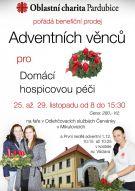 Benefiční akce - prodej adventních věnců 2